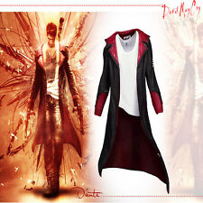 Free Shipping DMC Devil May Cry 5 Dante Cosplay Costume Only Jacket Just Coat