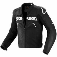 Spidi Evo Rider Motorcycle Jacket Black / White 599055 Size 2XL