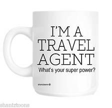 Agent de voyage cadeau de nouveauté tasse