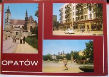 Poland Opatow Kolegiata Centrum Handlowe Obroncow Pokoju - posted 1978