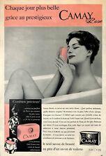 CAMAY SAVON DE BEAUTE PUBLICITE 1959