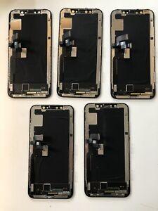 5x X Job Lot Apple iPhone Original Cracked Screens Fully Working