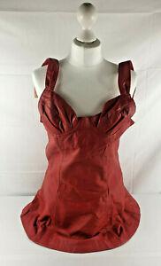 Women Leather Dress Genuine Lambskin Women's Celebrity style
