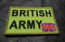 UNION JACK UK ENGLAND FLAG TACTICAL MORALE BRITISH ARMY HOOK PATCH