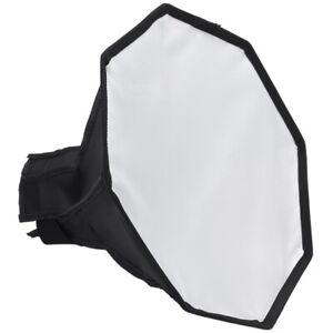 10X(30Cm Octagon Universal Mini Softbox Flash Diffuser Portable Camera Soft