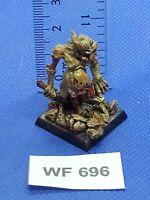 Warhammer Fantasy/40K - Plaguebearer of Nurgle Painted - Metal WF696