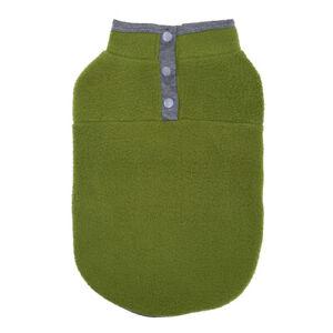 Dog Solid Color Fleece Sweater Pet Dog Cat Vest T-shirt Winter Warmer Clothes