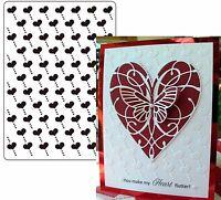 Heart Embossing Folder Darice embossing folders 1215-61 Valentine's Wedding
