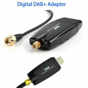 Dab Radio Receiver In Car Antenna Digital DAB+ Adapter Aux Tuner Box Audio USB