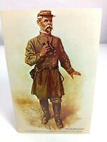 Vintage Postcard The Artilleryman Civil War Water Color Paintings