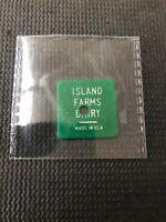 Token Coin Island Farms Dairy Gd 4 1 Half Gal Homo Milk Comb Ship P10