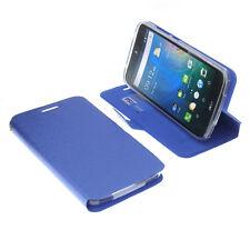 Custodia per Acer Liquid z630 Book-Style guscio protettivo Libro Custodia Cellulare Blu