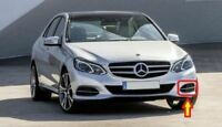 New Genuine Mercedes Benz E Class W212 Front Bumper Left Grill+Cgrome Set OEM