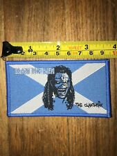 Iron Maiden patch 'The Clansman Scottish Flag' limited edition Blue