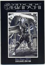 SIMONE BIANCHI Sketchbook SIGNED SDCC 2011 Exclusive MIGHTY THOR LTD 600 COA NM