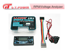 RPM VOLT ANALYZER DISPLAY 2 6S LIPO LIFE BATTERY AEREO MODEL RC GT POWER 215CA