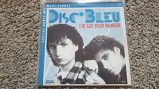 Disc Bleu - I've got your number 12'' Disco Vinyl