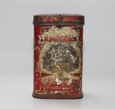 alte Blechdose, Kakao Cacao A. Driessen Holland, Jugendstil ca. 1900  #B928