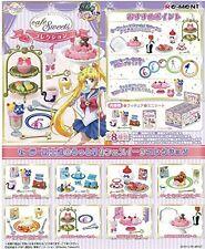 Re-ment Sailor Moon Cafe Sweet Full Set Box Set of 8