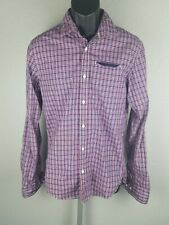 Scotch And Soda Amsterdam Couture Mens Medium Buttton Up Long Sleeve Shirt...