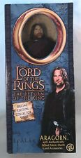Lord of the Rings 2003 Aragorn The Return of the King Action Figure Collectors