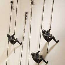 Global Views Climbing Men Wall Art Sculpture Set of 3