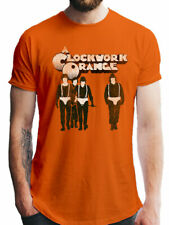 A Clockwork Orange Gang Official Classic Movie Poster Orange Men T-shirt