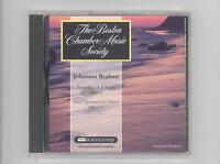 (CD) Brahms: Piano Trio, Op. 8 / Piano Qt, Op. 60 / Boston Chamber Music Society