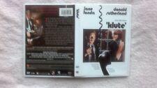 KLUTE (1971 Donald Sutherland, Jane Fonda)  RARE R0-ALL RELEASE CLASSIC DISC VGC