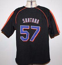 New listing MLB New York Mets Johan #57 Nike Kids Size 7 Black Sewn Jersey