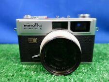 Minolta HI-Matic E Rangefinder Camera 40mm f/1.7
