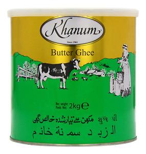 Khanum Roghan - Butterschmalz - Butter Ghee 2kg