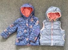 100% NEXT BUNDLE OF GIRLS CLOTHES COAT / GILLET SIZE 4 - 5 YEARS