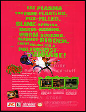 GHOUL PATROL__Original 1995 Print AD / game promo__SNES__Super NES__LucasArts