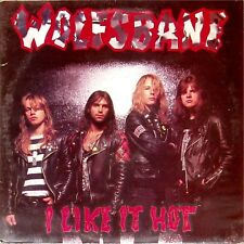 "WOLFSBANE 'I LIKE IT HOT' UK 12"" SINGLE ON RED VINYL"
