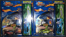 Lot 1 HOT WHEELS BACK to SCHOOL SET - 2 Pencil Cases & diecast cars Brand New NR