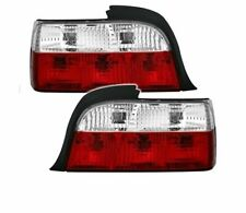 BMW E36 COUPE CABRIO 1992-1999 RED WHITE VT03 SET REAR LIGHTS TAIL