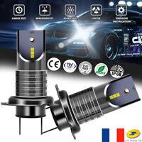 Ampoule Canbus 30000LM sans erreur de la puce 110W H7 LED  Améliorer CSP Chip X2