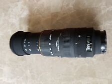 Sigma 50-500mm F/4.5-6.3 APO HSM DG Lens - Sony Fit faulty