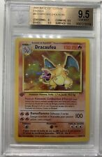 Pokemon Dracaufeu 4/102 Holo 1 Ère ED Set De Base Beckett 9,5 = PSA10 Display