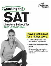 Cracking the SAT Literature Subject Test, 2013-2014 Edition-ExLibrary