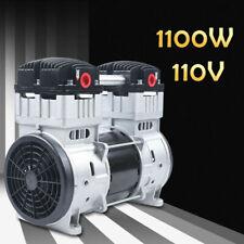 1100w Oilless Diaphragm Vacuum Pump 7cfm Oil Free Mute 8 Bar Low Noise 110v