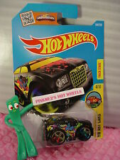 Case L/M 2016 i Hot Wheels CHRYSLER 300C #194✰black;R;multicolor 5sp✰HW Art Cars
