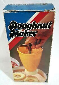 Vintage DOUGHNUT MAKER 🍩 Donut Making Machine 🍩 Looks Like New Selling As Used