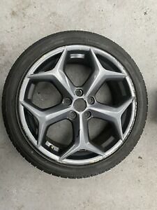 FORD FOCUS MK3 Alloy Wheel With Tyre CM51-AC Genuine Ford 2013+ Free P&P 2.0