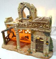 Bethlehem Carpenter's House Nativity Replacement Grandeur Noel Village 2002
