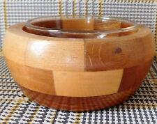 "Vintage Cambridge Ware wooden bowl for jam sauce sugar preserve 1950s 1960s 5"""