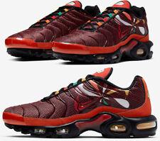 Nike Air Max Plus Tn Sunburst Habanero Red Orange Gold Black CK9393-600 Men's