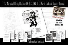 Van Norman Milling Machine Models Ir 3 22 Amp Irq 3 22 Service Manual Parts List