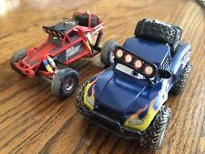 Disney Pixar Cars Radiator Springs 500 1/2 Off Road Blue Grit & Idle Threat 1:43